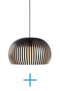 Atto 5000 black | Secto Design